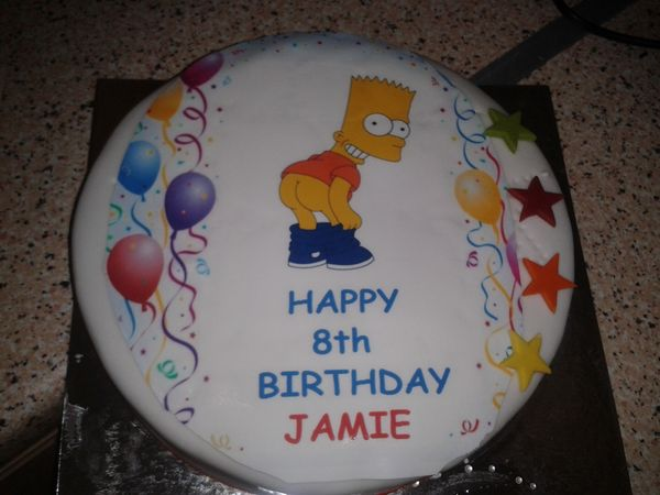 Проказник Барт торт