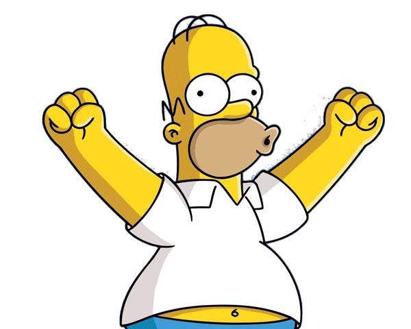 Гомер восклицает Е-ху!
