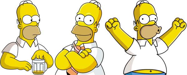 Такой разный Гомер Симпсон