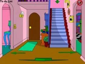 Онлайн игра Дом Симпсонов