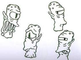 Рисуем пришельцев Канга и Кодоса