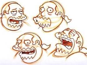 Рисуем продавца комиксов Джеффри