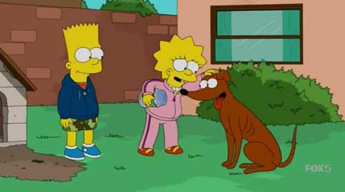Лиза и Барт нашли улику