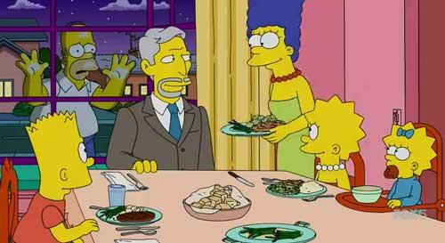 Отец Кэндис и Гомер