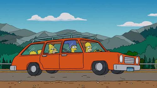 Симпсоны едут в гости