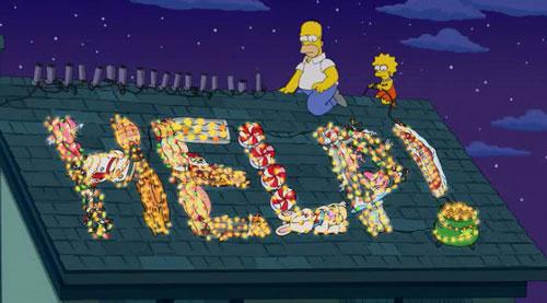 Симпсоны просят о помощи
