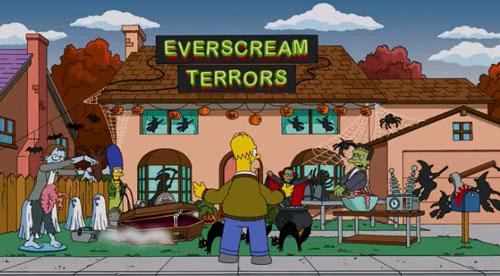 Дом Симпсонов в Хэллоуин