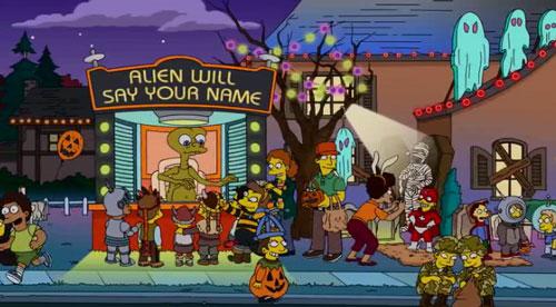 Хэллоуин в Спрингфилде