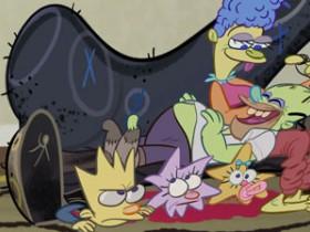 """Симпсоны 27 сезон 5 серия """"Схватить живым, а лучше мертвым"""", """"Гомерзилла"""""""