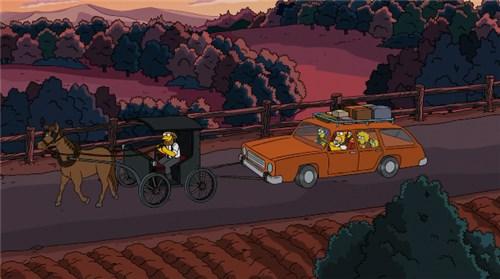 Симпсоны едут в Нью-Йорк