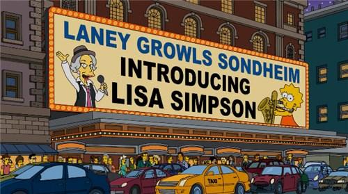 Выступление Лизы Симпсон