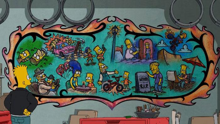 Барт занимается живописью
