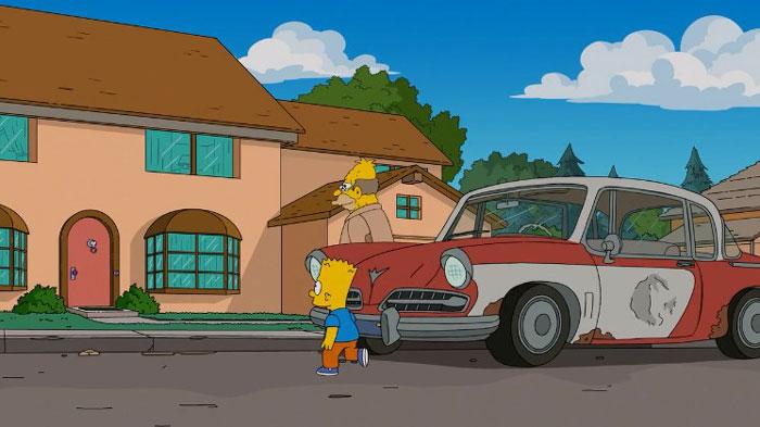 Дедушка и Барт