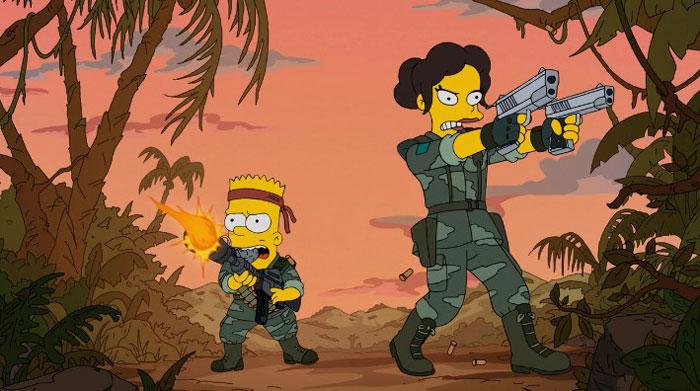 Барт с новой учительницей