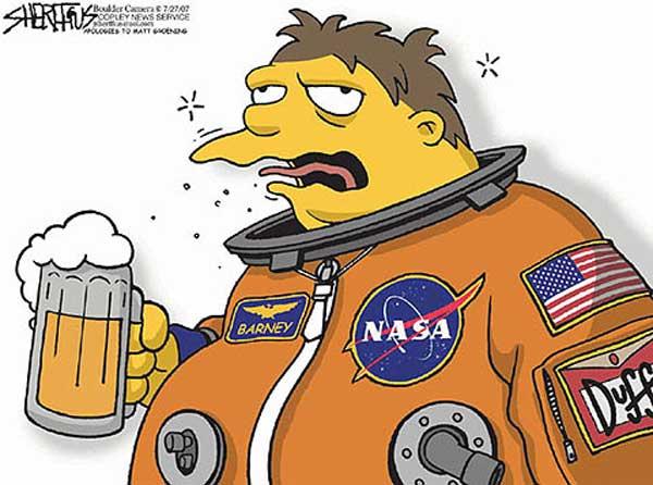 Барни Гамбл космонавт