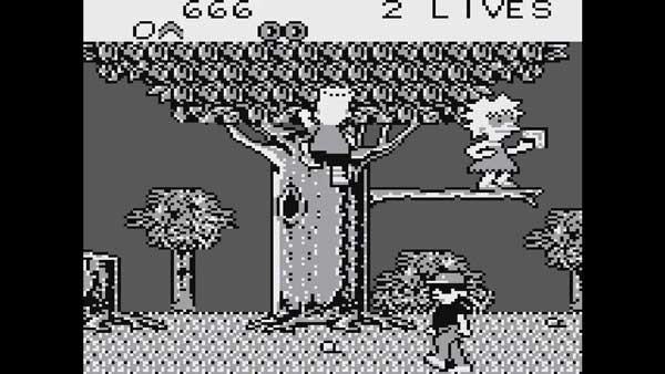 Игра про Симпсонов на Game Boy