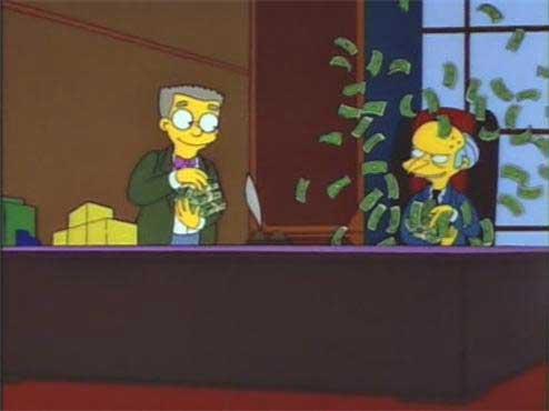 Бернс и деньги