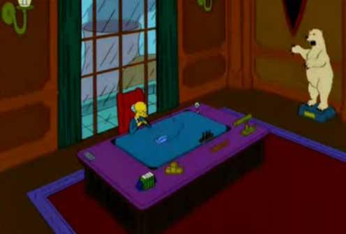 Бернс в офисе