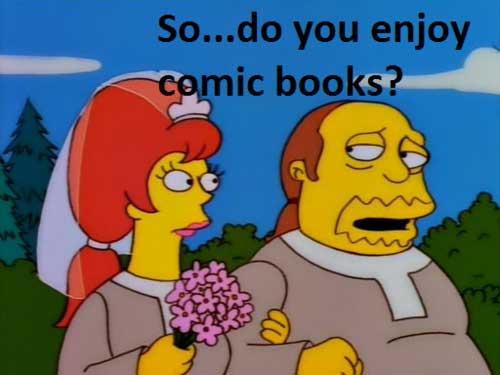 Джефри женится на фанатке комиксов