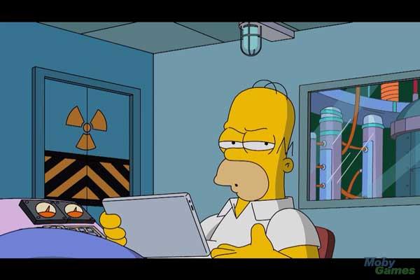 Гомер на работе