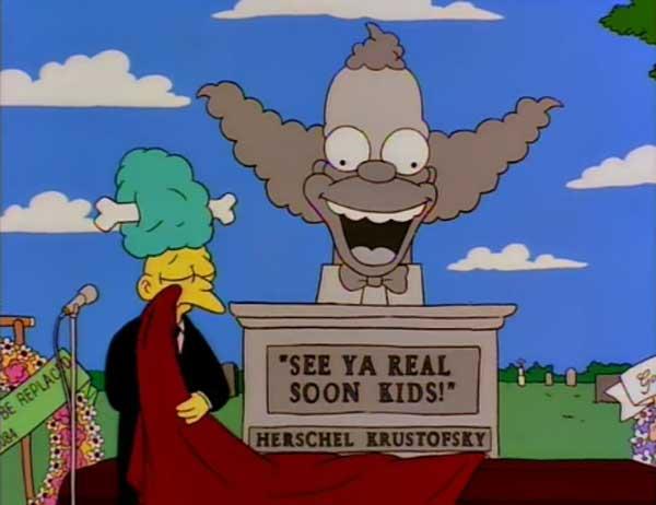 Похороны Красти клоуна
