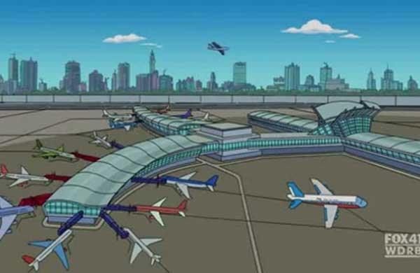 Красти в Гаагском аэропорту