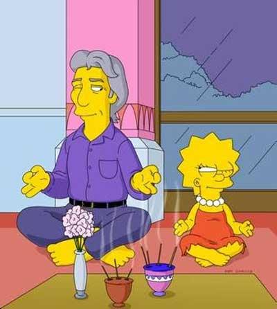 Лиза Симпсон буддистка