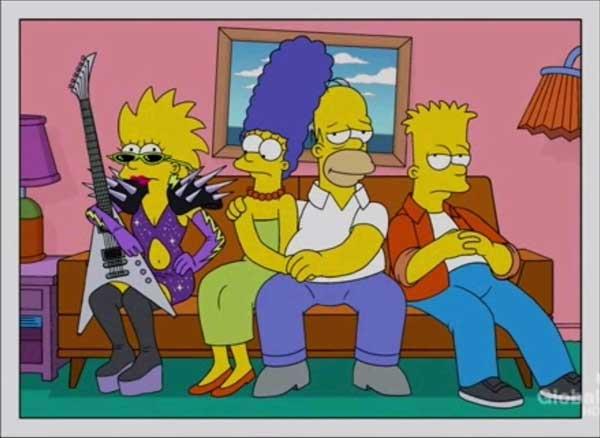 Мэгги Симпсон панк