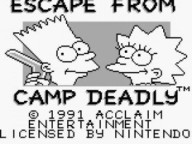 Игра Bart Simpson's Escape from Camp Deadly