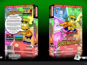 Игра The Simpsons: Bart vs. the Space Mutants