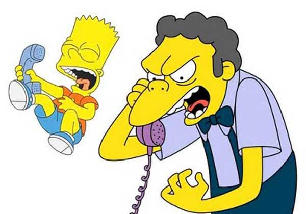 Барт шутит над Мо