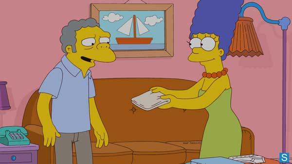 Мо и Мардж Симпсон