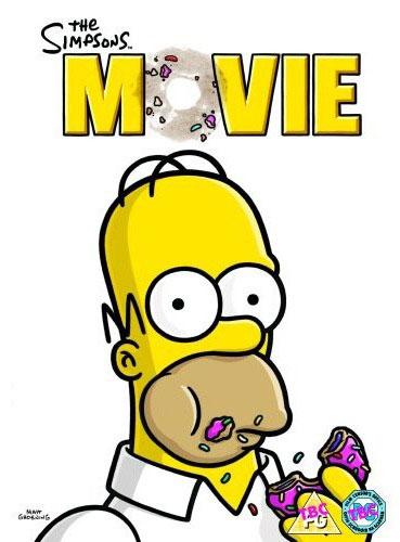 DVD Симпсоны в кино