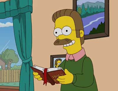 Фландерс читает Библию