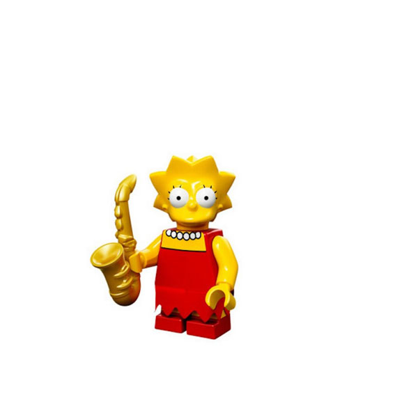 Лего Лиза Симпсон