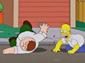 Гриффины против Симпсонов