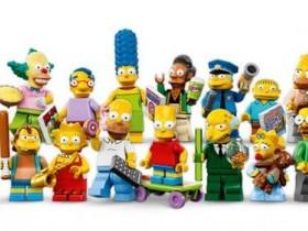 Все Симпсоны - LEGO