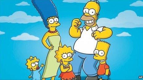 Сериал Симпсоны впервые был показан в 1989 г.