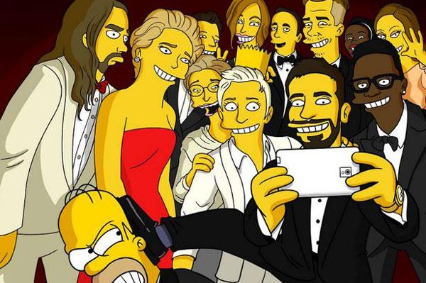 Селфи: врчение Оскара, Гомер Симпсон