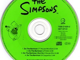 "Альбом ""The Simpsons - Do The Bartman"""