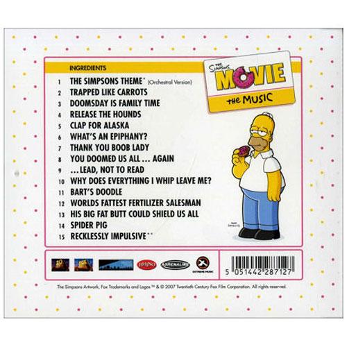 Симпсоны в кино музыка