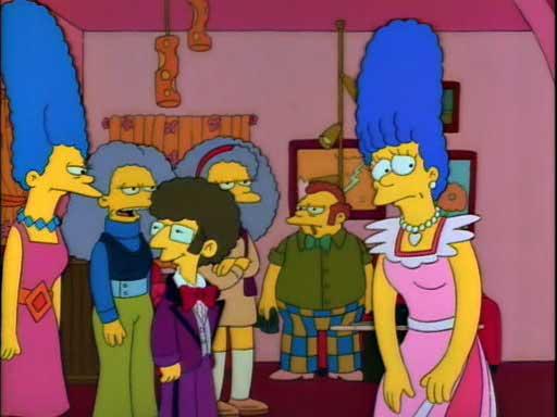 Сельма знакомит Мардж с мужчиной