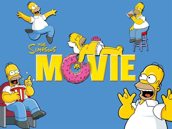 Симпсоны в кино, кассовые сборы