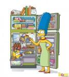 Мардж показывает холодильник