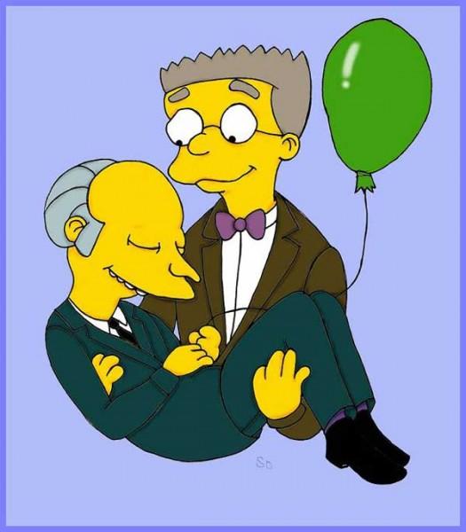 Смитерс и мистер Бернс