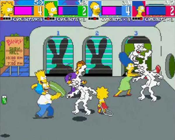 Игра Симпсоны