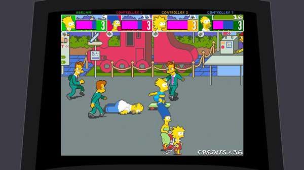 Игры про Симпсонов