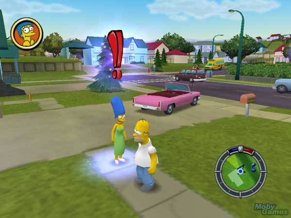 Игра The Simpsons: Hit and Run 3