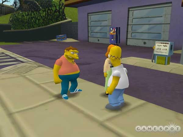 Игра The Simpsons: Hit and Run 4