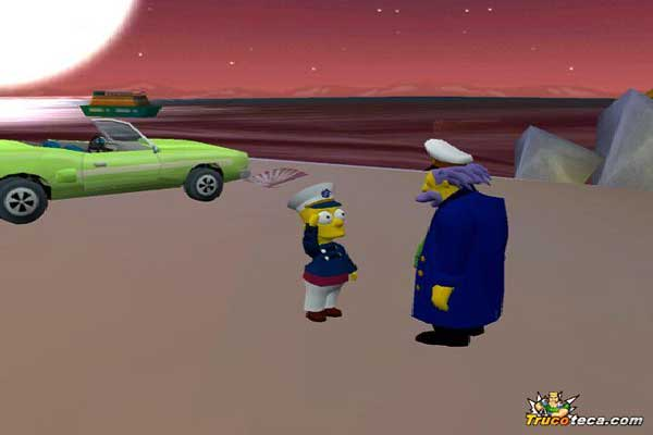 Игра The Simpsons: Hit and Run 5